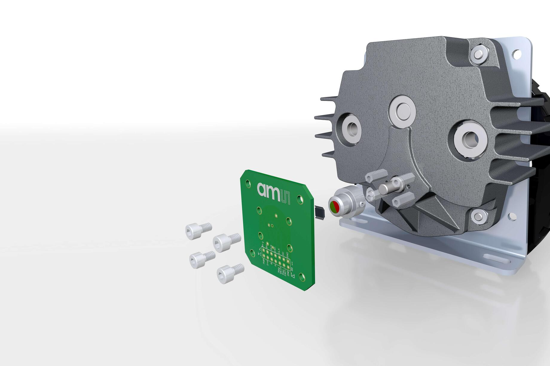 Contactless position sensors from ams offer best-in-class immunity to magnetic stray fields.