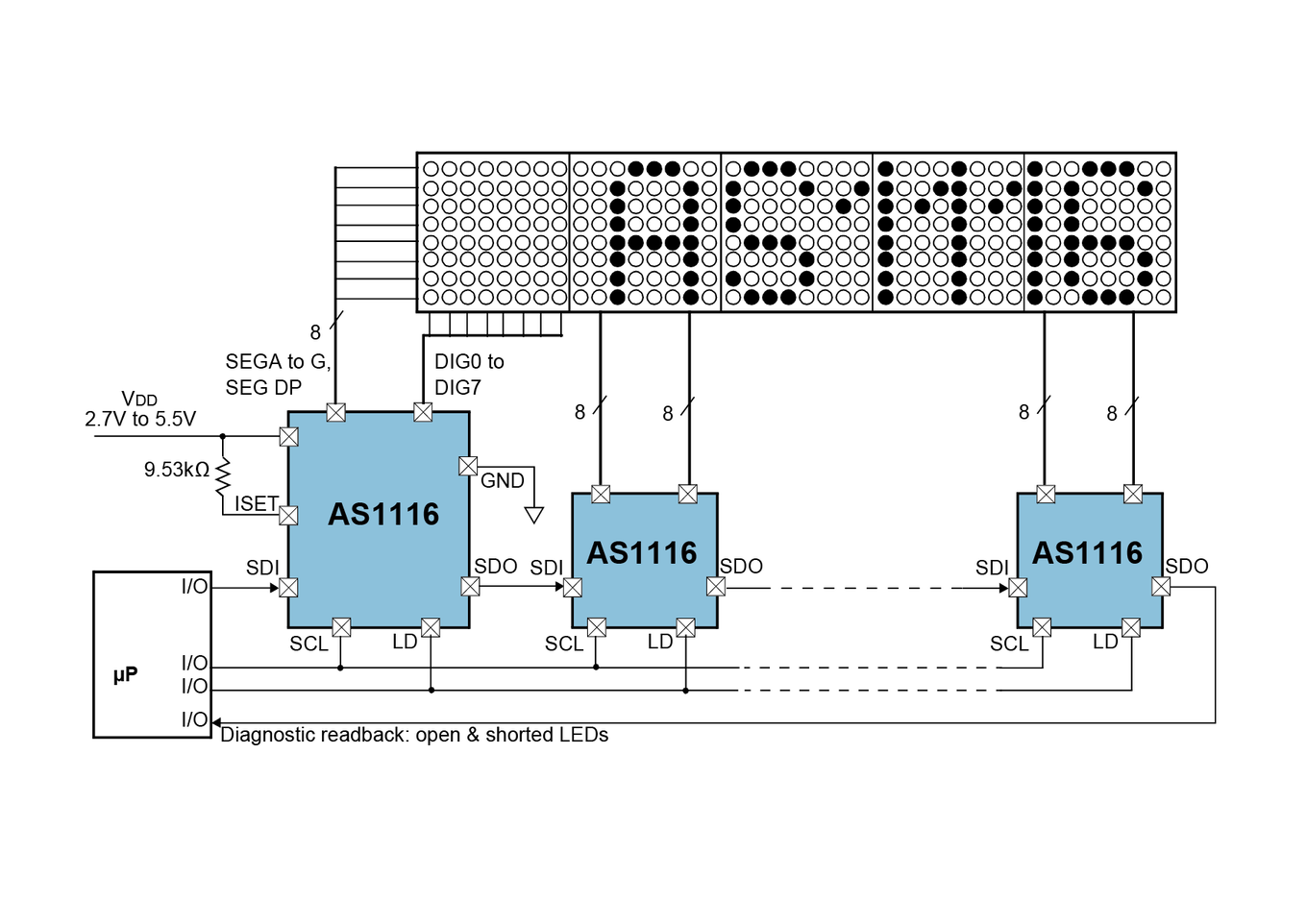 AS1116 Block Diagram