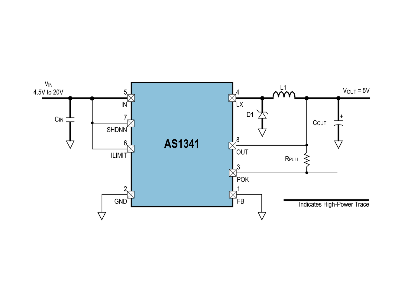 AS1341 Block Diagram